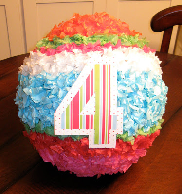 A DIY homemade pinata is the perfect addition to any birthday party