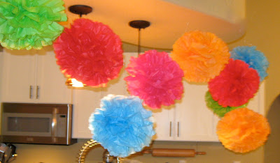 These tissue paper party puffs are perfect party decoration and an easy DIY!