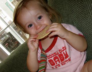 Even plain sugar cookies are delicious.
