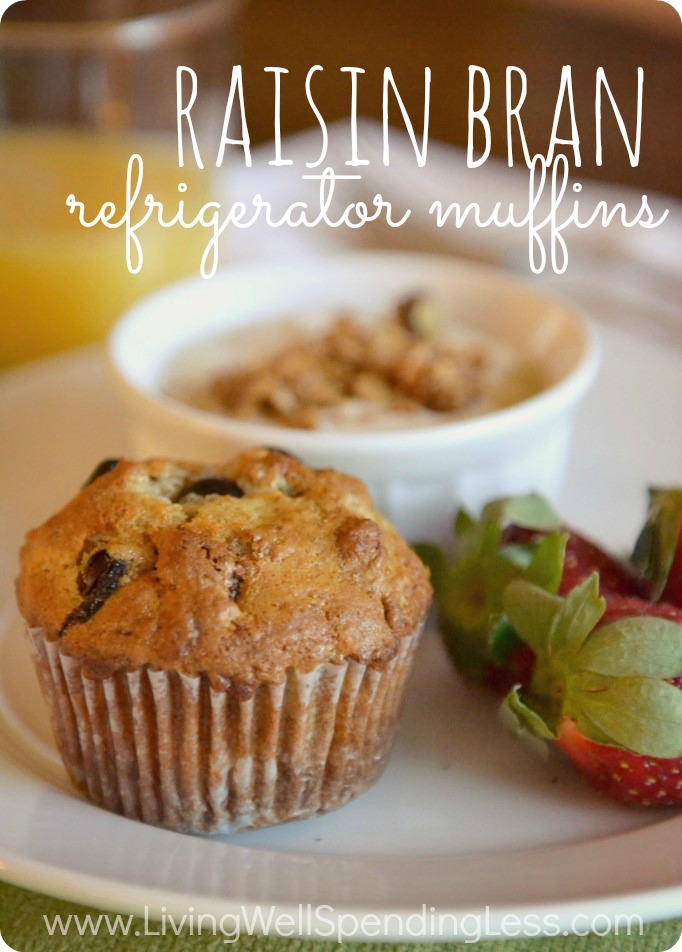 Best Raisin Bran Refrigerator Muffins Living Well
