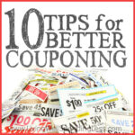 10 Tips for Better Couponing