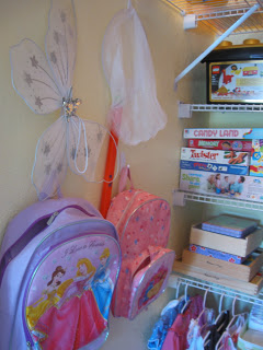 Ensure all your kids' belongings, books, games and more have a place to reduce chaos.