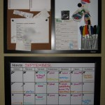 How to keep track of your speed cleaning schedule using a calendar.
