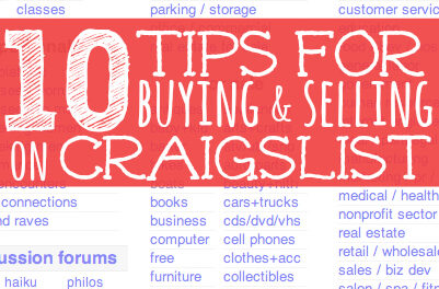 10 Tips for Buying & Selling on Craigslist
