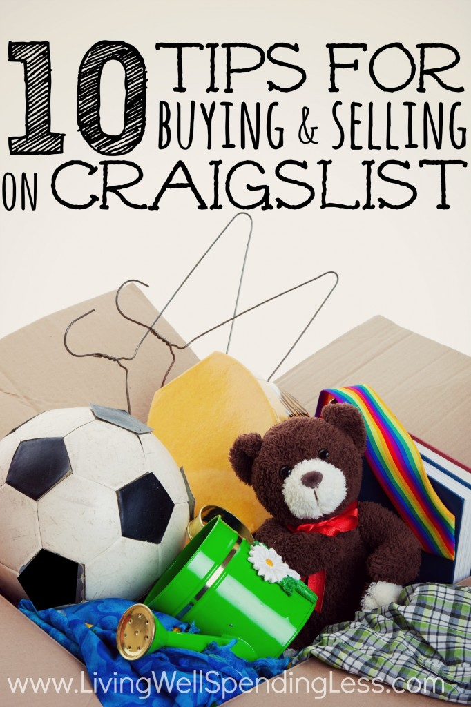 Tips for Buying & Selling on Craigslist