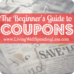 The begnner's guide to coupons
