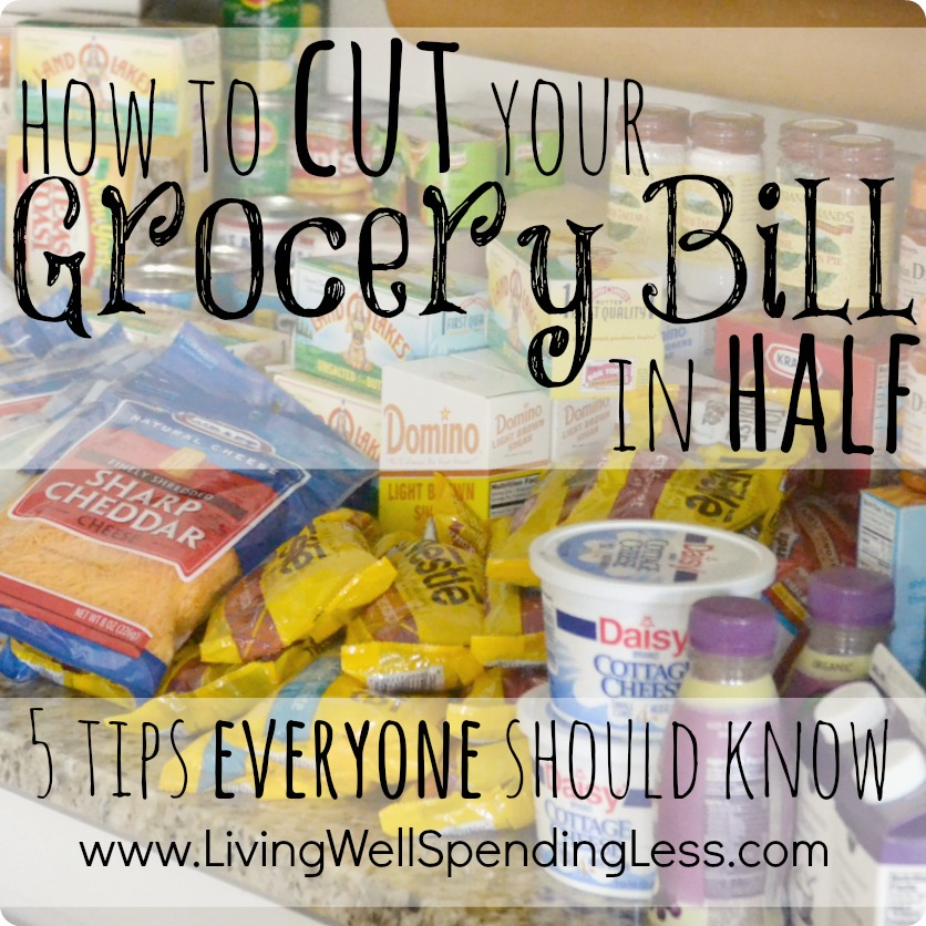 cut your grocery bill in half pdf