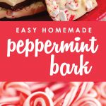 Looking for a sweet holiday treat to give that won't take all day? This homemade peppermint bark is easy to make and the perfect holiday gift!