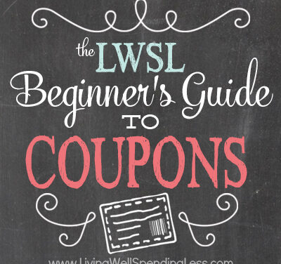 Beginner's Guide to Coupons (Week 8)