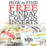How to Find Free Sunday Coupon Inserts Square