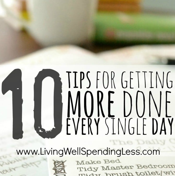 Tips for Getting More Done Daily | Daily Task Hacks | Get More Done | Productivity | Daily Life Must Know