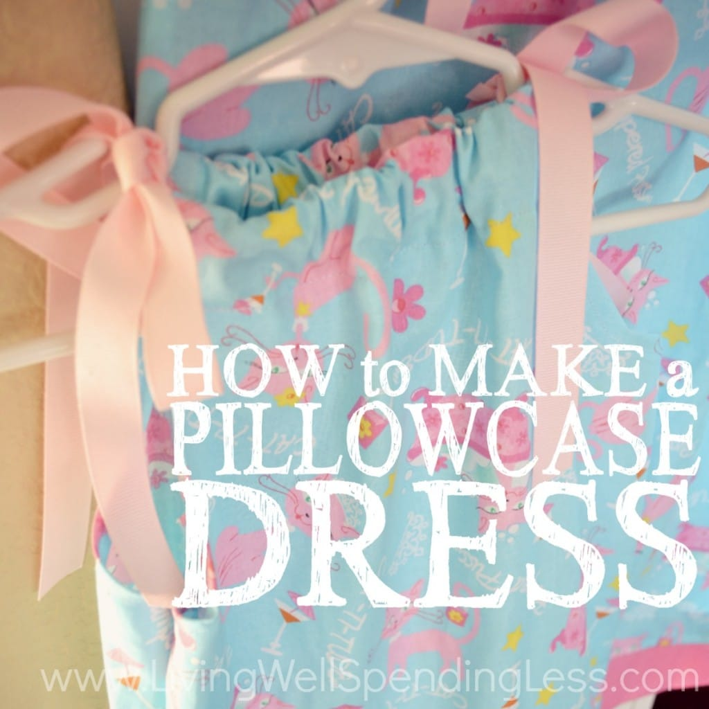 How to Make a Pillowcase Dress Square 1
