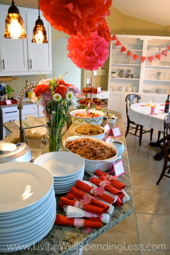 The spread can be simple yet extensive. There's something for everyone!