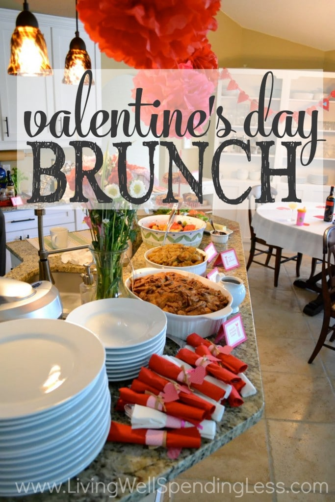 Valentine's Day Brunch can be simple yet impressive!