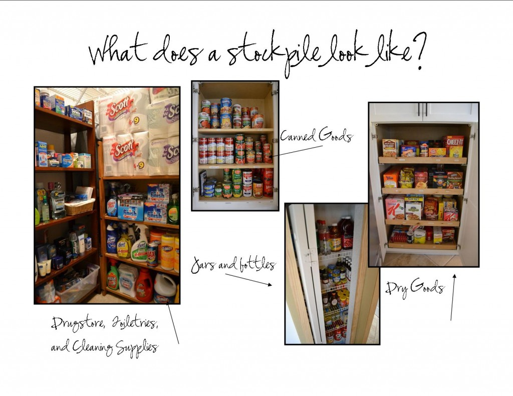 Creating a DIY stockpile at home is all about organization, space and planning.