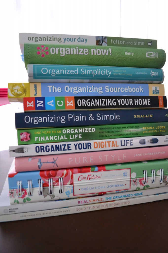 There are several great books out there to use as resources for learning to stay organized.