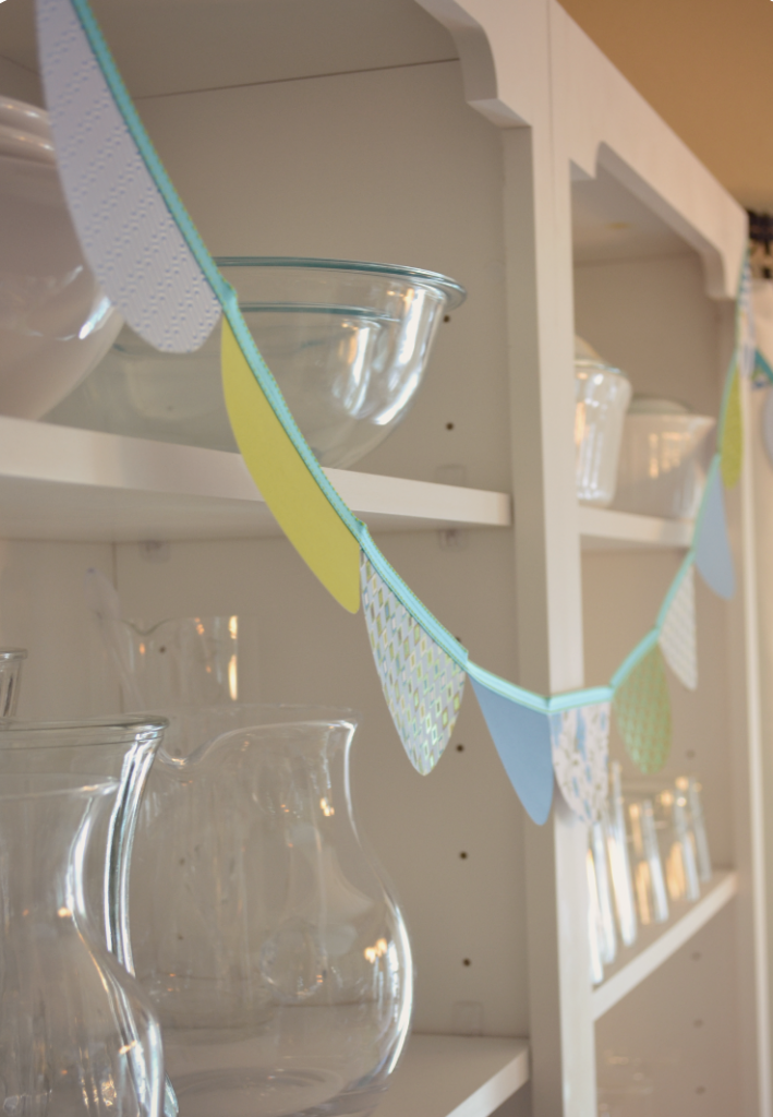 This DIY paper garland decor is perfect for any party.
