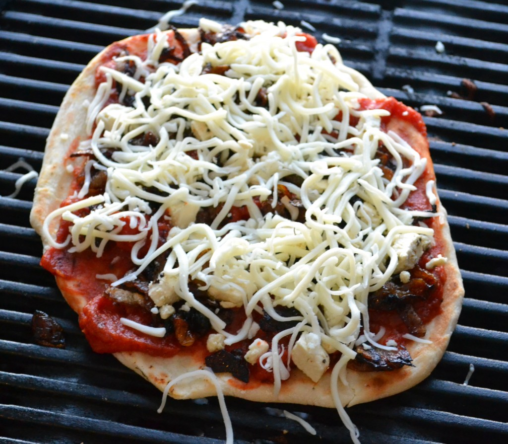 Homemade Grilled Pizza