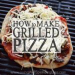 How to Make Grilled Pizza Square 2