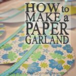 How to Make a Paper Garland Square 1