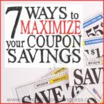 7 Ways to Maximize your Coupon Savings Square