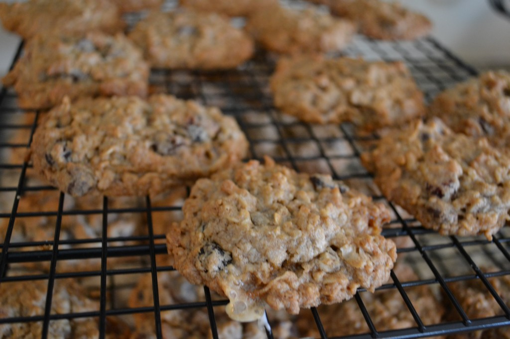 Make sure to use parchment paper to bake perfect Maggie & Annie's Everything Cookies!