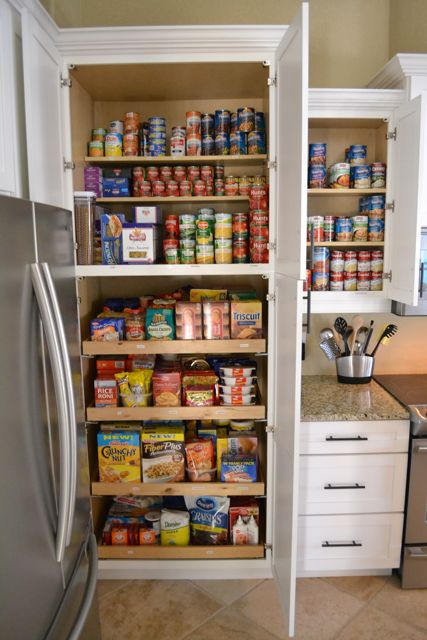 A well-stocked pantry and cupboards can really help maximize savings.