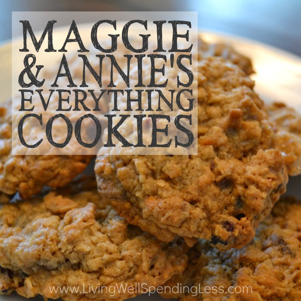 Maggie & Annie's Everything Cookies will have you drooling!