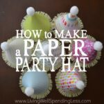 How to Make a Paper Party Hat Square