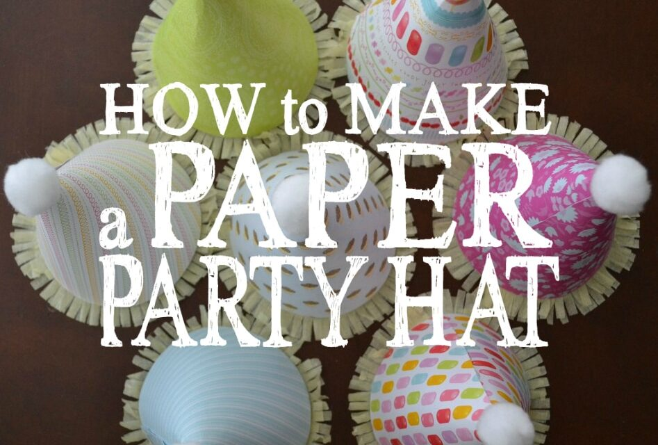 How to Make a Paper Party Hat