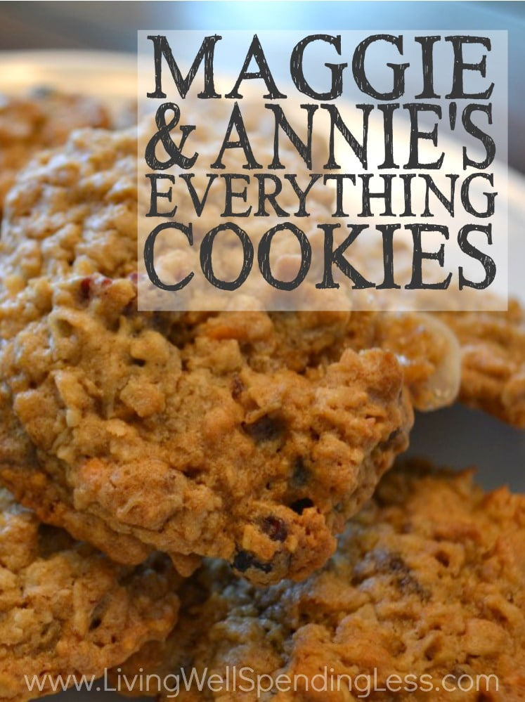 Maggie & Annie's Everything Cookies are a kaleidoscope of flavors!