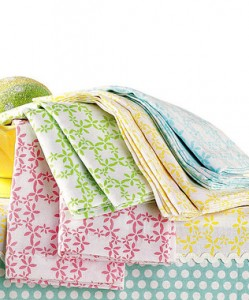Pastel Dish towels Set from Zulilly.com