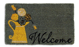 Gray Welcome Mat from Zulily.com
