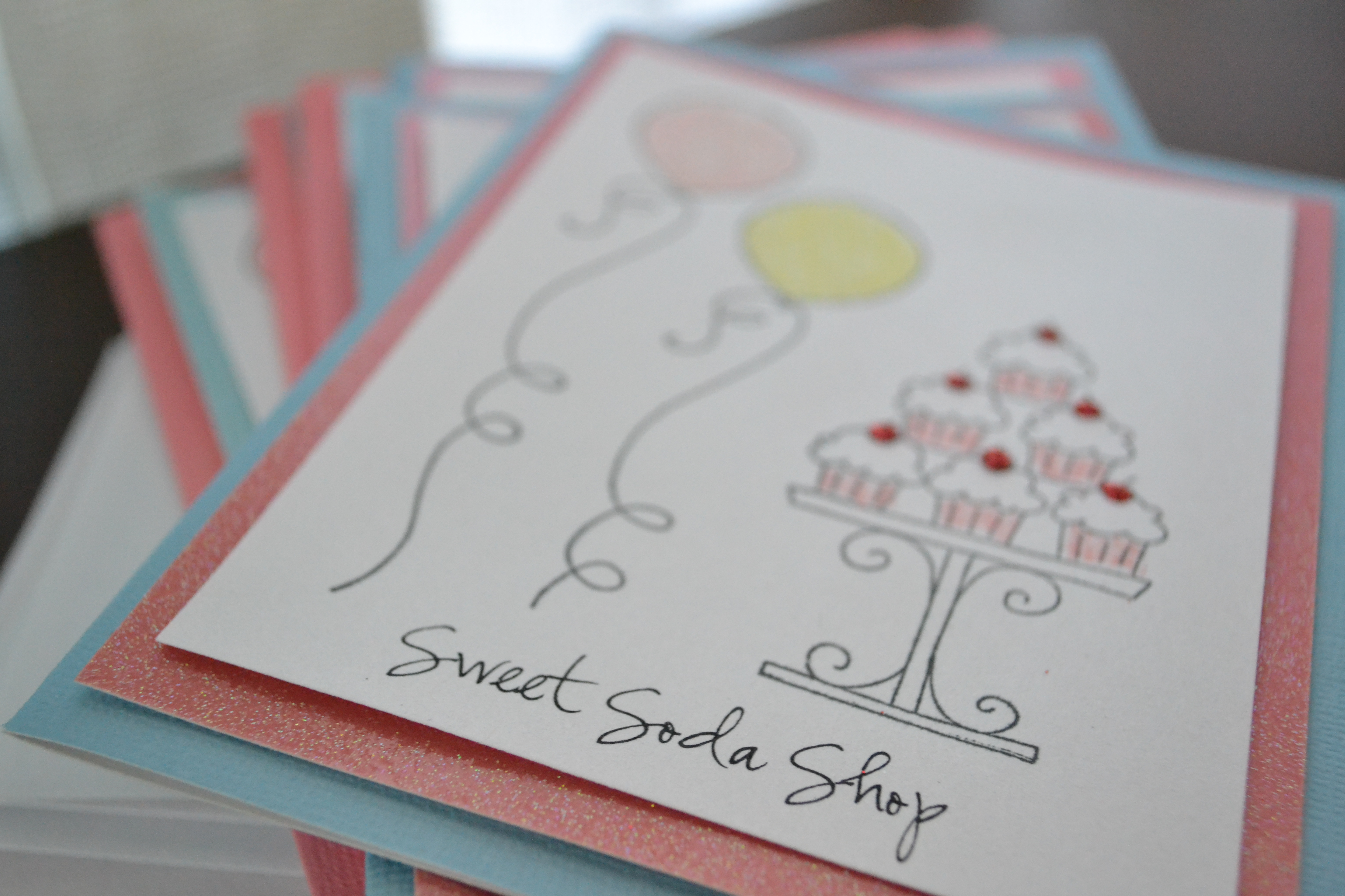 How to Make Hand Stamped Invitations | Handmade Party Invitations