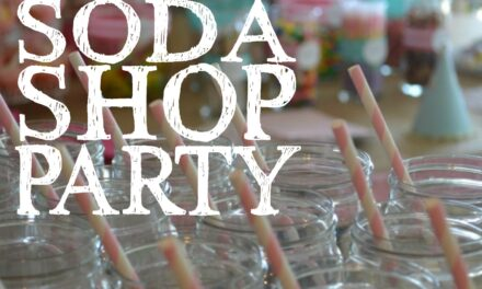 Sweet Soda Shop Party