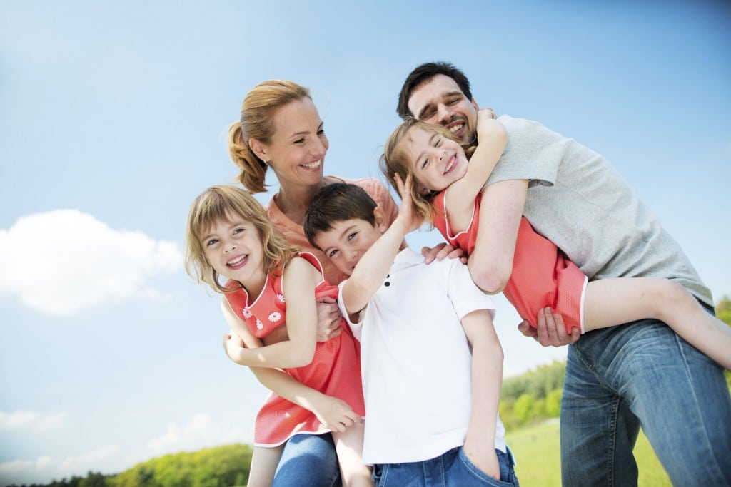 Enjoying time with your family is important to live a happy life.