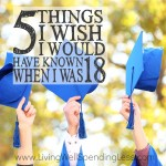 5 Things I Wish I Would Have Known When I Was 18 Square