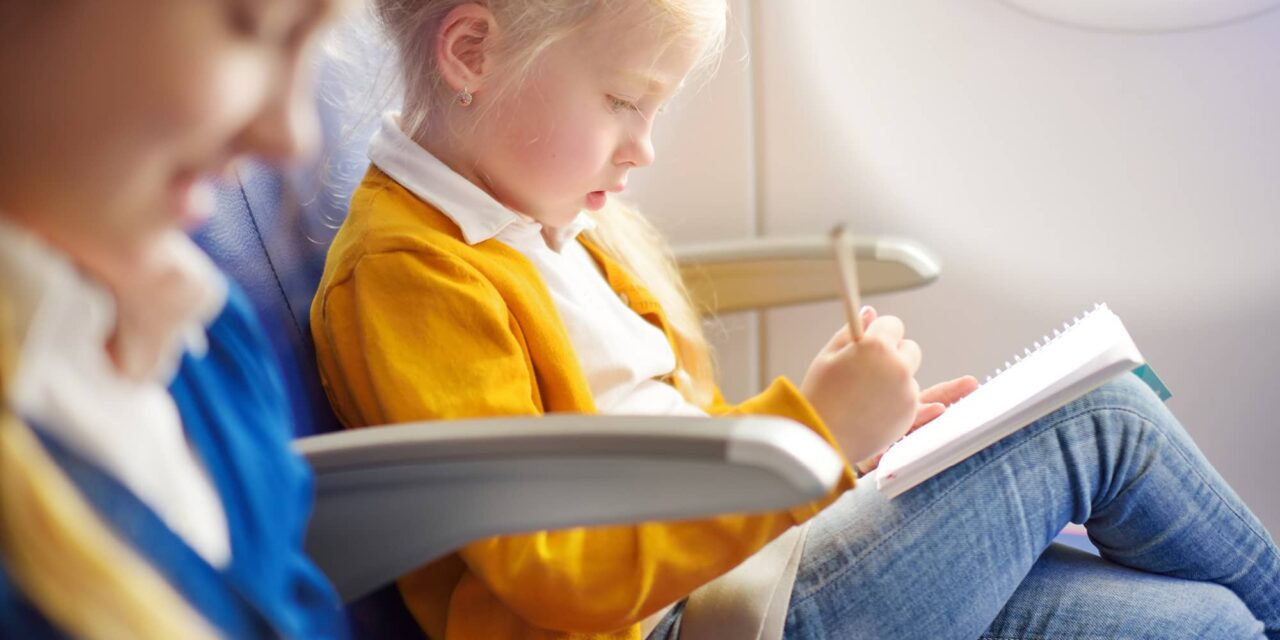 5 Tips for Flying with Young Children