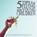 5 Tips for Flying with Young Children Square
