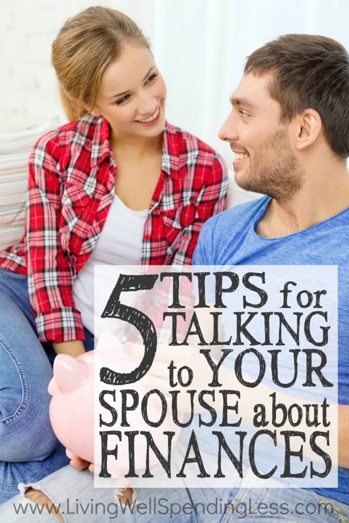 5 Tips for Talking to Your Spouse About Finances | Money & Marriage | Money Advice | Talk Money With Your Spouse