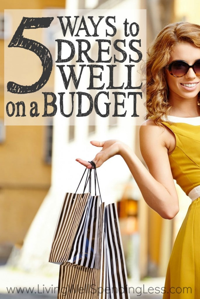 5 Ways to Dress Well on a Budget | Frugal Fashion Tips | Dress for Success on a Budget | Make Cheap Clothes Look Expensive | Save Money on Clothes