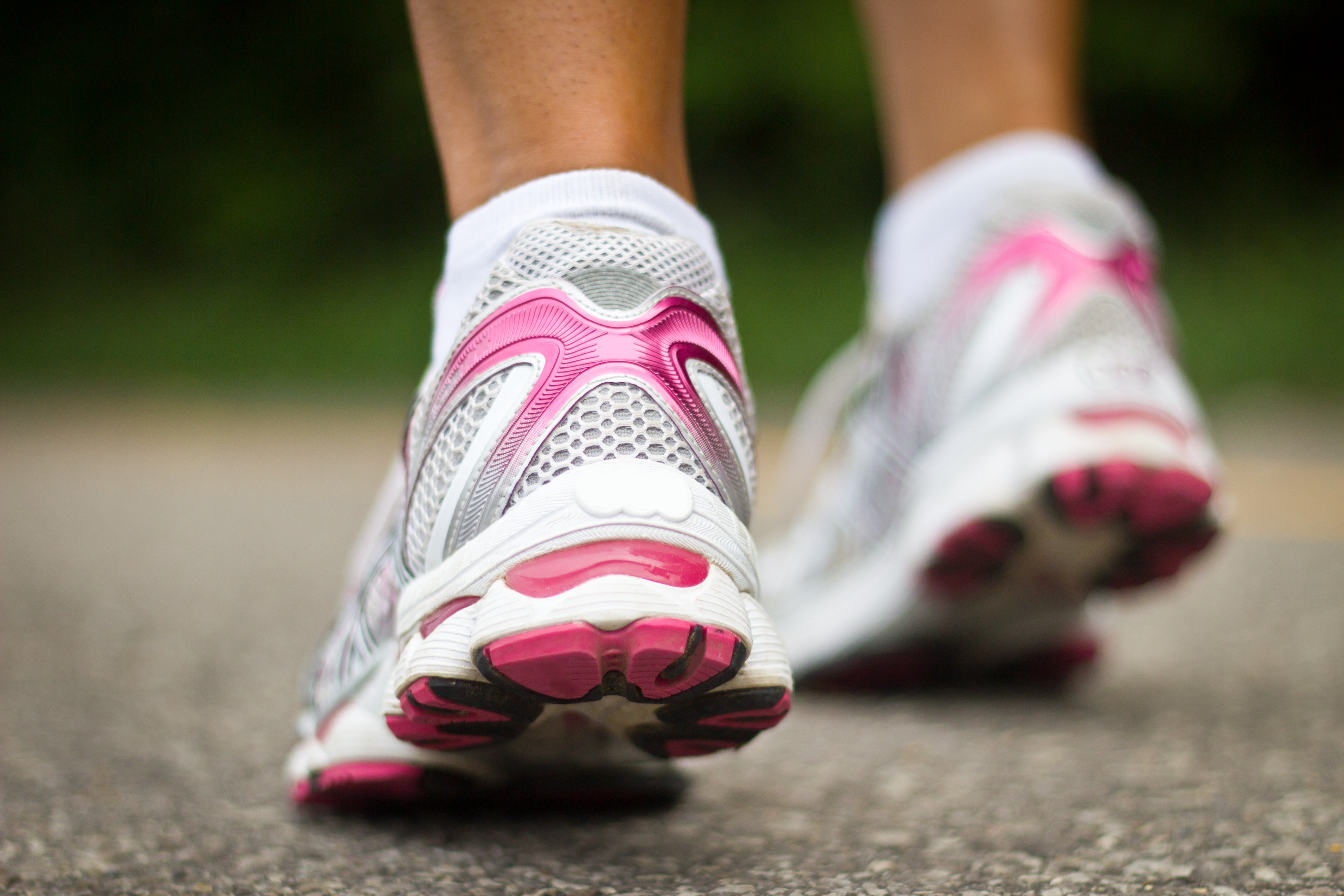 Getting your running shoes out and pounding the pavement because exercise is an important life skill.