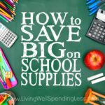 How to Save Big on School Supplies Square 2
