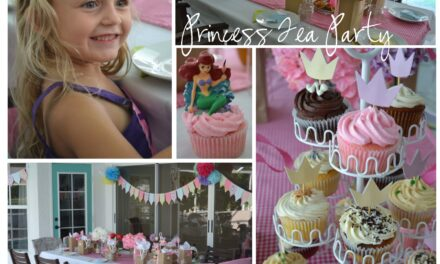 A Princess Tea Party