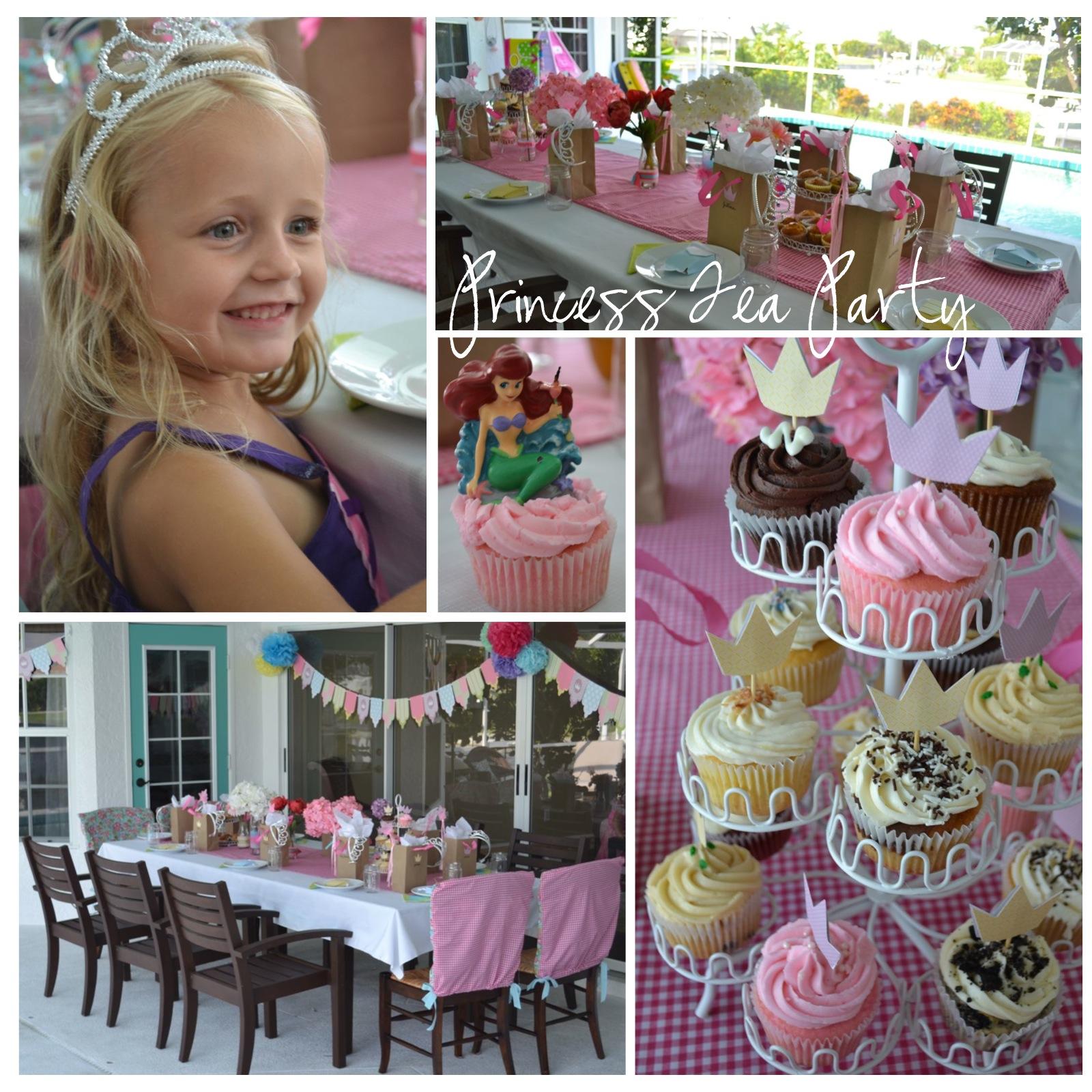 Kids Birthday Ideas Princess Tea Party Living Well Spending Less