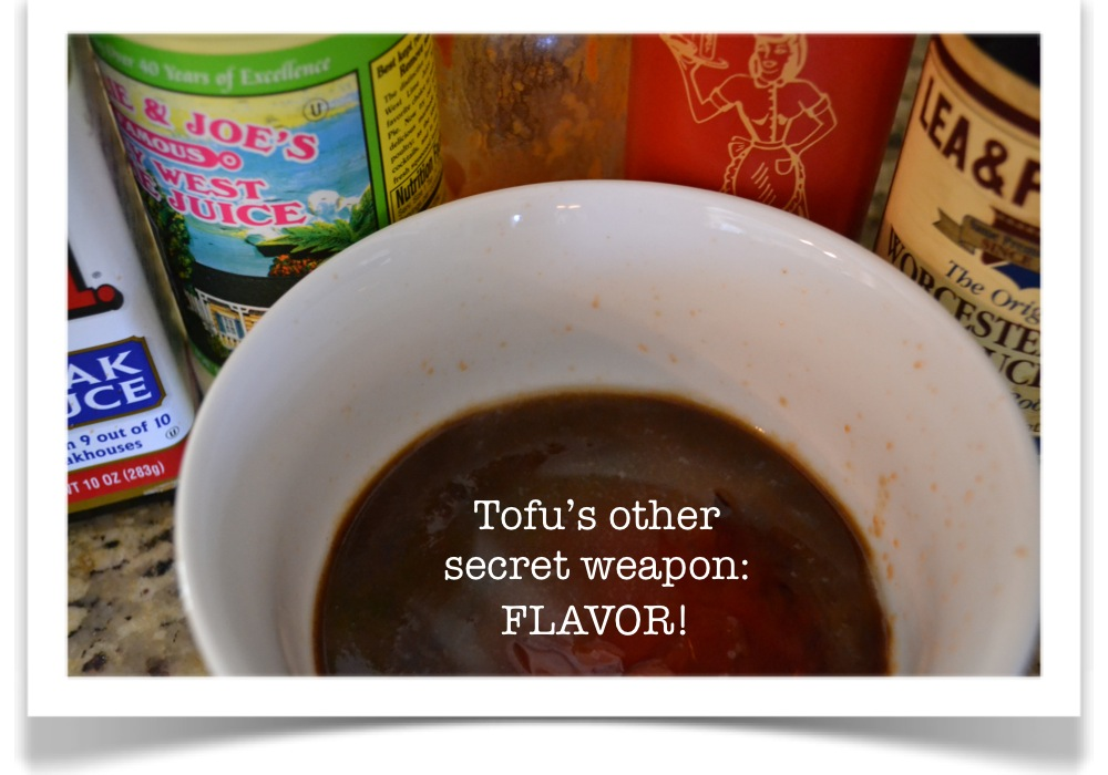 Various flavors and spices are great for tofu.