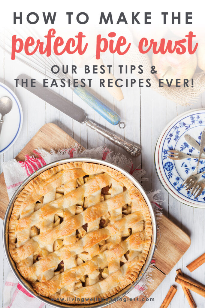 While it might seem intimidating, mastering the flakiest, most delicious homemade pie crust is actually a snap! Don't miss these step-by-step instructions for how to make the perfect pie crust! #pie #howto #diy #recipes #dessertrecipes #easyrecipes #pierecipes #piecrust #delicious