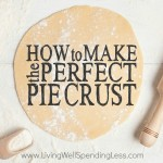How to Make the Perfect Pie Crust Square