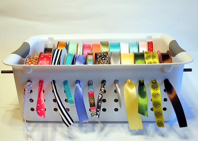 This ribbon organizer is ingenious!