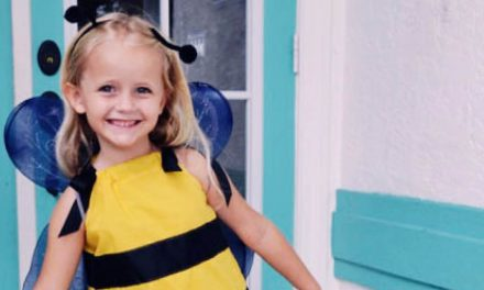 Easy Sew DIY Bumblebee Costume for Kids